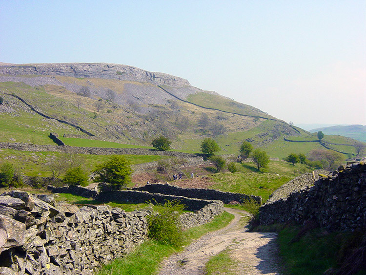 The road to Wharfe
