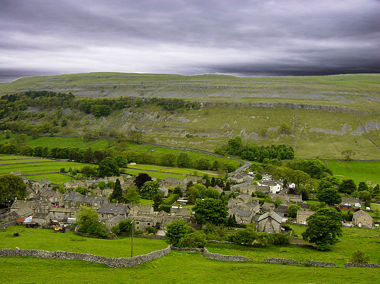 Kettlewell as seen from Top Mere Road