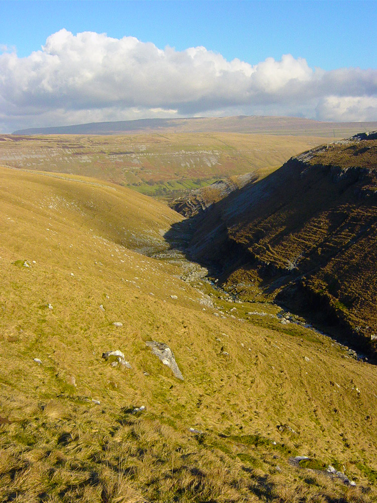 Cote Gill and Scar Bank