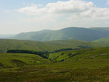 Heading to Uldale from off Wild Boar Fell
