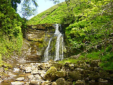 One of the waterfalls I found in Needlehouse Gill