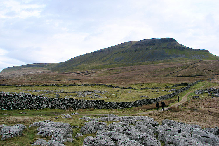 Penyghent looms large