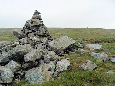 Summit Cairn on Gregory Chapel