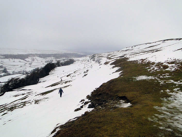 Descending to Littondale
