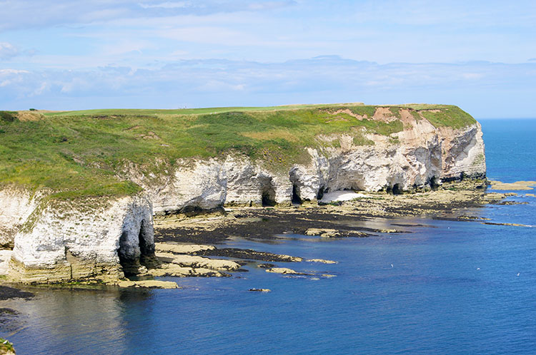 Walks In East Yorkshire Flamborough Head Dane S Dyke