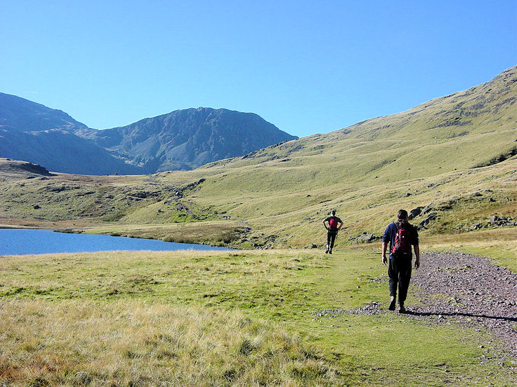 Styhead Gill and Scafell Pike