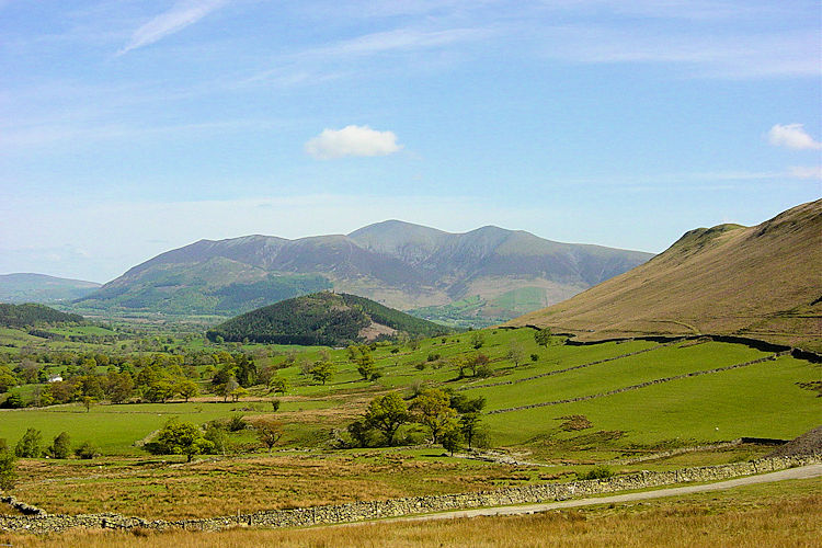 View to Skiddaw from Little Town