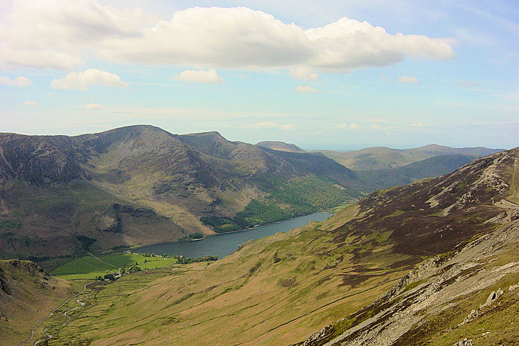 View to Buttermere from Robinson Edge