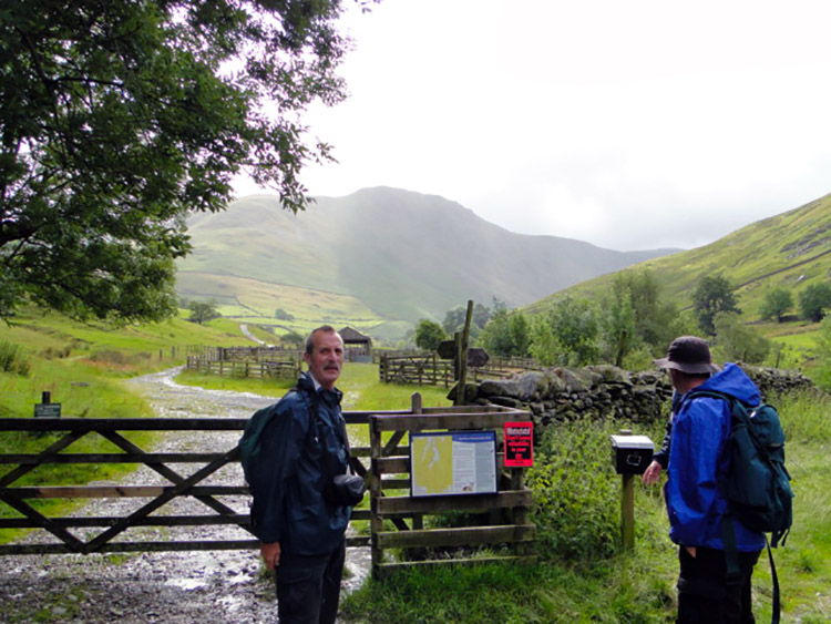 The start at Hartsop