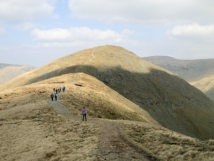 The ridge walk from Yoke to Ill Bell