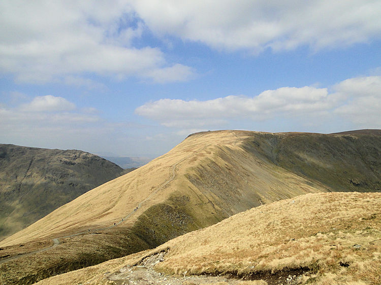 Looking from Frostwick to Thornthwaite Crag