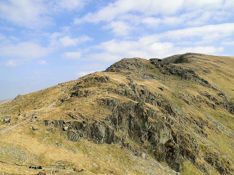 Harter Fell ahead, my 100th Wainwright