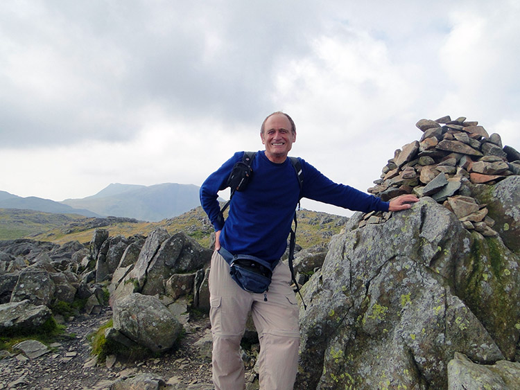 Pleased as punch on the summit of Glaramara