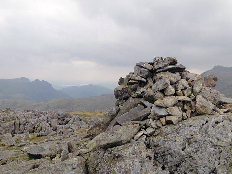 Cairn on Allen Crags