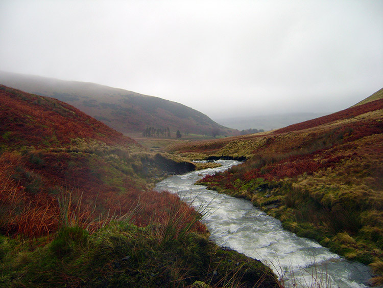 River Glendermackin heads downstream