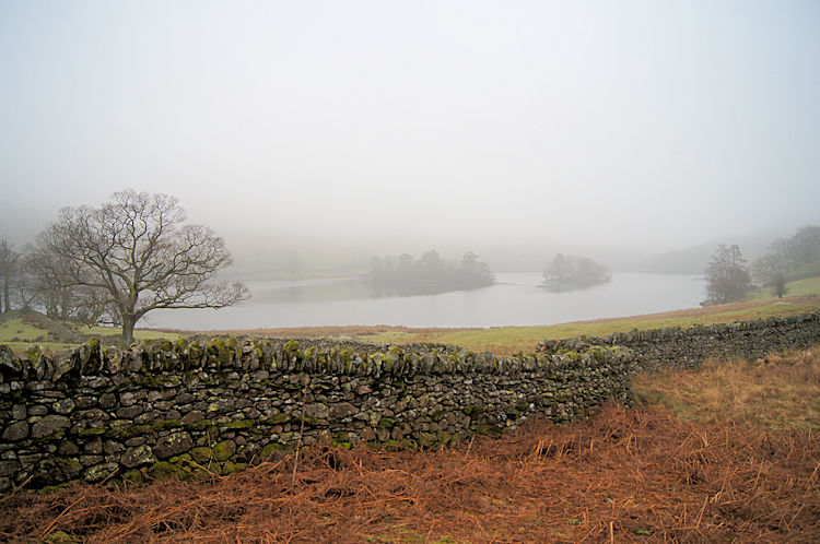 Looking west along Rydal Water toward Grasmere
