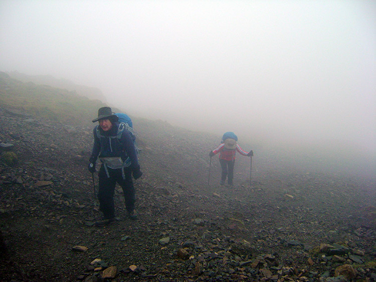 The steep ascent to Fairfield takes its toll
