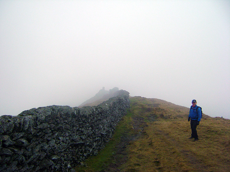 John follows the wall to Low Pike