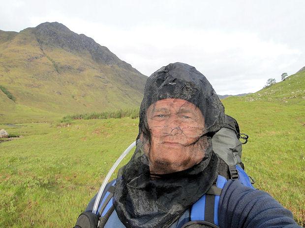 Midges Scotland When The Midge Net in Scotland