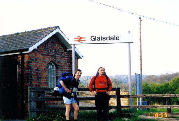 Journey's end for today in Glaisdale