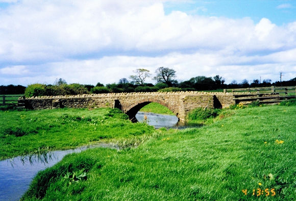 A bridge to Laylands Farm near Bolton on Swale