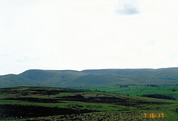 Looking to the Howgill Fells from Smardale Fell