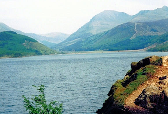 The sight of Ennerdale Water is a welcome relief