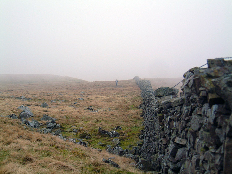 Climbing to Whernside