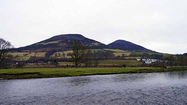 River Tweed and Eildon Hill