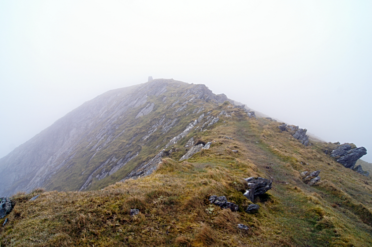 Summit of Moelwyn Mawr