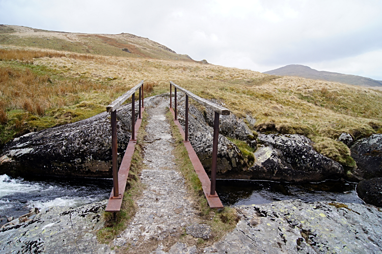 Footbridge over Afon Hengwm