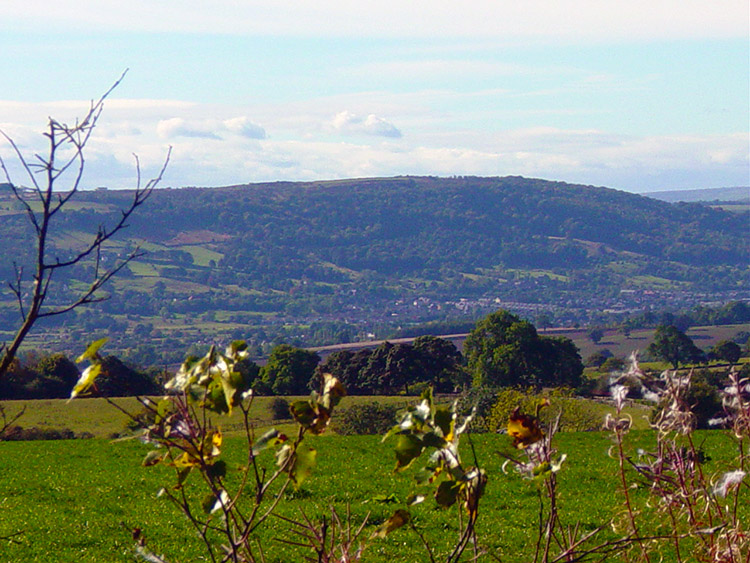 View to Wharfedale from Staniston Hill