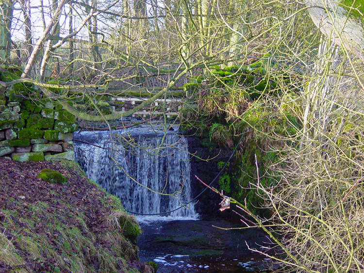 Waterfall at Bramley Head