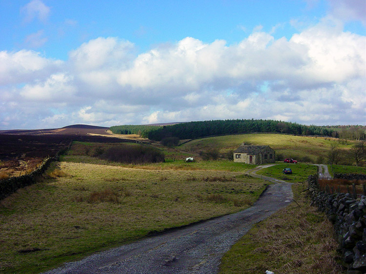 Ellarcarr, site of a disused quarry