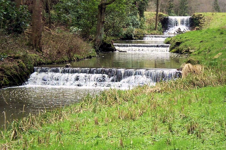 Water feature designed by Lancelot Capability Brown