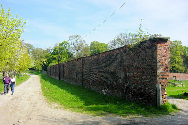 Passing the Walled Garden