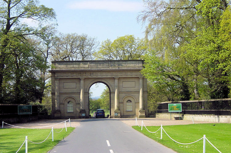 Entrance to Harewood House