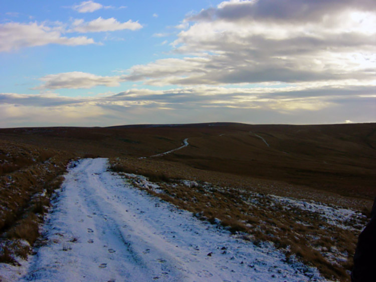 The way from Woogill Moor to Dale Edge