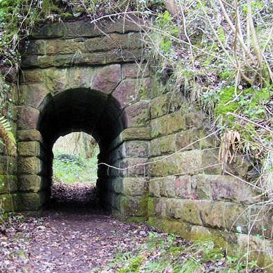 Tramway bridge restored by Staffordshire Moorland Council