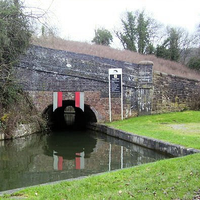 Froghall Tunnel is low and most boats are unable to pass through