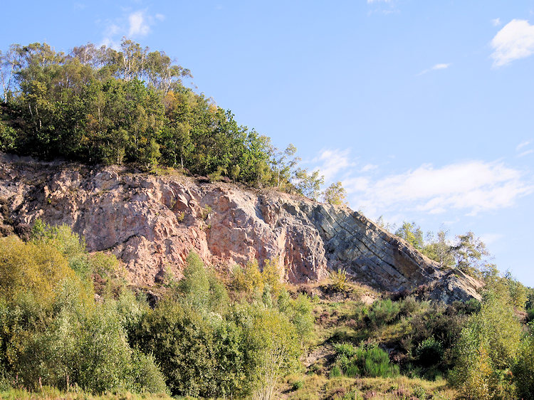 Ercall Quarry and geology fault line