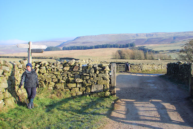 North Pennines straight ahead