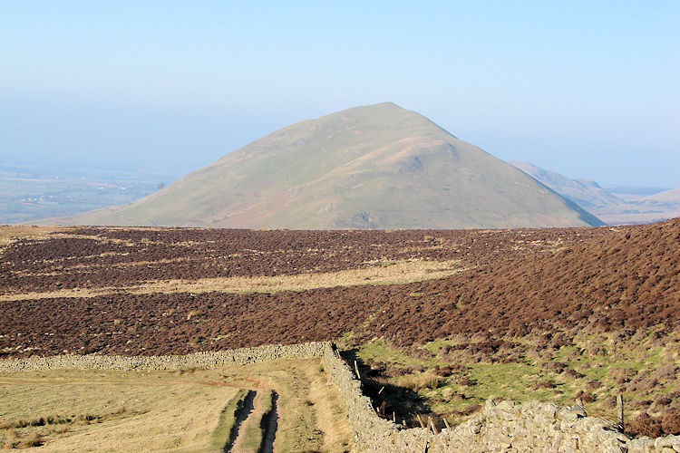 Looking back to Dufton Pike