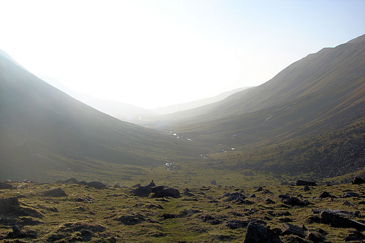 The view from High Cup Gill