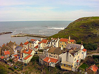 Looking over Staithes