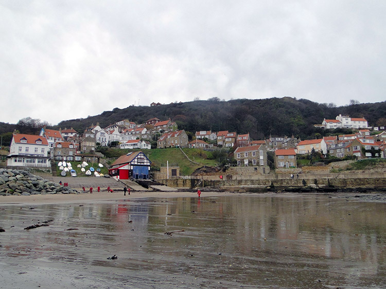 Runswick as seen on a dull November day