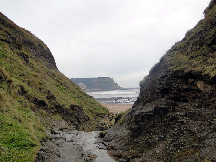 Hob Holes at Runswick Bay