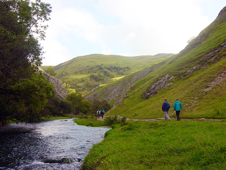 Walking in Dove Dale is very special
