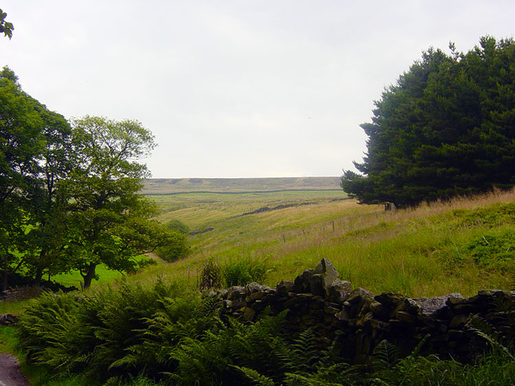 Open land at Walshaw above Hardcastle Crags