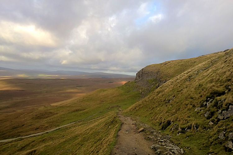 Pen-y-ghent East Flank